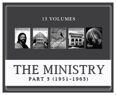 Ministry Magazine, Part 3 (1951–1963) (13 vols.)