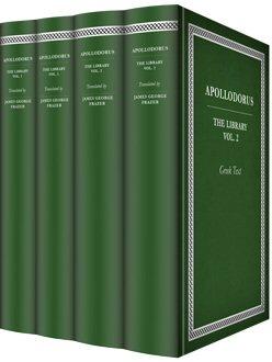 Apollodorus' The Library (4 vols.)