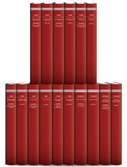 Works of Ovid and Horace (16 vols.)