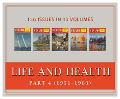 Life and Health Magazine, Part 4 (1951–1963) (Vols. 66–78) (156 issues)