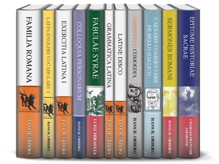 Lingua Latina Familia Romana Collection (11 vols.)
