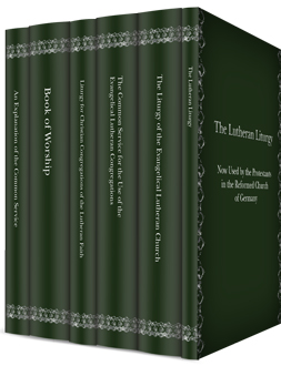 Lutheran Liturgical Studies Collection (6 vols.)