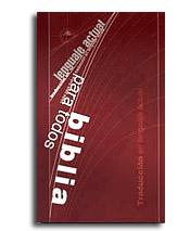 Biblia: Traducción en Lenguaje Actual (TLA)
