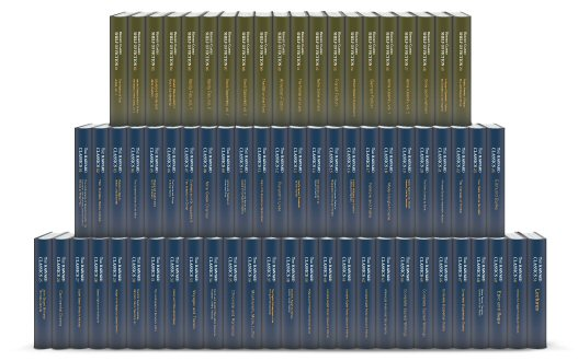 The Harvard Classics and Fiction Collection (71 vols.)