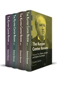 Kuyper Center Review (4 vols.)
