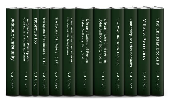 F.J.A. Hort Collection (12 vols.)