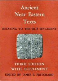 Ancient Near Eastern Texts