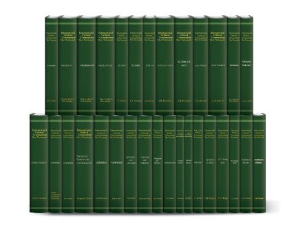 International Critical Commentary New Testament (32 vols.)