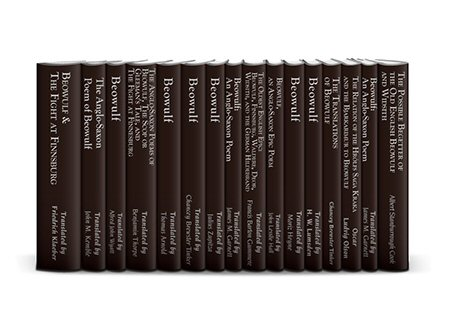 Classic Beowulf Studies Collection (16 vols.)