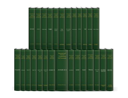 International Critical Commentary Old Testament (27 vols.)