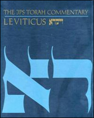 The JPS Torah Commentary: Leviticus