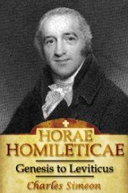 Horae Homileticae, Volume 1: Genesis to Leviticus
