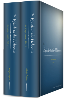 The Epistle to the Hebrews: An Exposition (2 vols.)