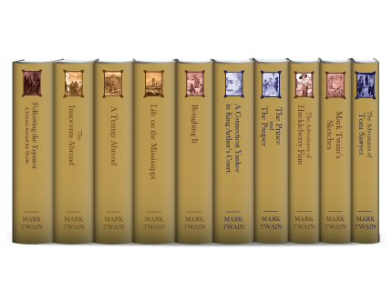 Select Works of Mark Twain (10 vols.)
