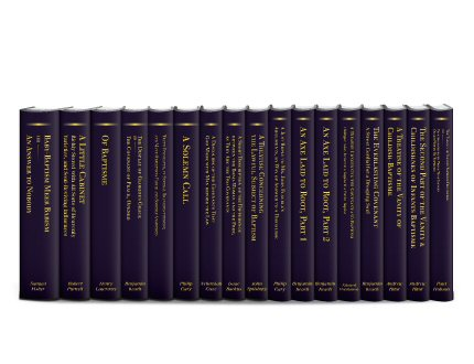 Baptist Covenant Theology Collection (17 vols.)