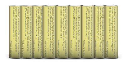 Annals of the American Pulpit (9 vols.)