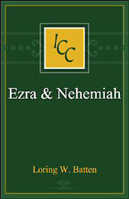 A Critical and Exegetical Commentary on the Books of Ezra and Nehemiah