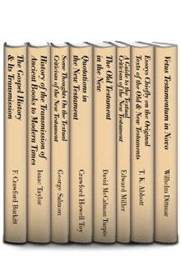 Textual Studies on the New Testament (8 vols.)