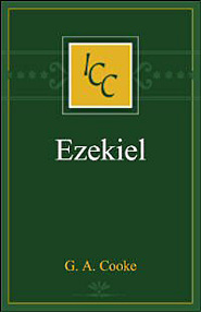 A Critical and Exegetical Commentary on the Book of Ezekiel