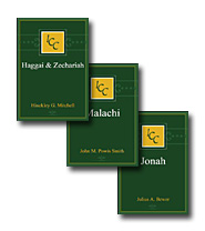 A Critical and Exegetical Commentary on Haggai, Zechariah, Malachi and Jonah