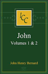 A Critical and Exegetical Commentary on the Gospel According to St. John, vols. 1 and 2