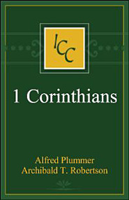 A Critical and Exegetical Commentary on the First Epistle of St. Paul to the Corinthians