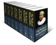 The Works of Richard Sibbes (7 vols.)