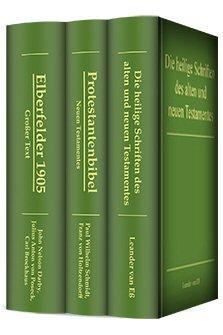 Auswahl klassischer Bibeln (3 vols.)