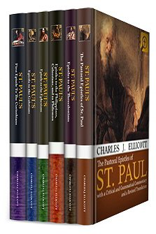 Ellicott's Commentaries on St. Paul's Epistles (6 vols.)