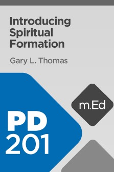 Mobile Ed: PD201 Introducing Spiritual Formation
