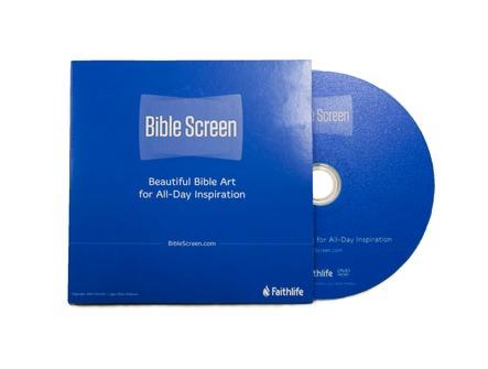 Bible Screen on DVD