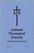 Ashland Theological Journal (37 vols.)