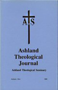 Ashland Theological Journal (37 vols.)
