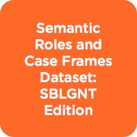 Semantic Roles and Case Frames Dataset: SBLGNT Edition