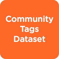 Community Tags Dataset