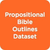 New Testament Propositional Bible Outlines Dataset