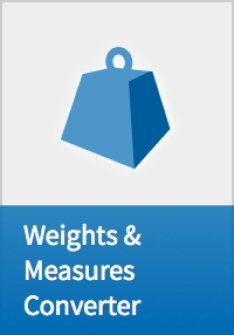 Weights and Measures Converter