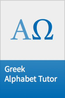 Greek Alphabet Tutor