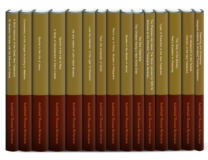 A. T. Robertson Collection (15 vols.)
