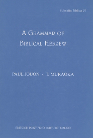 A Grammar of Biblical Hebrew: Revised English Edition
