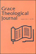 Grace Theological Journal (12 vols.)