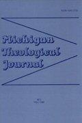 Michigan Theological Journal (5 vols.)