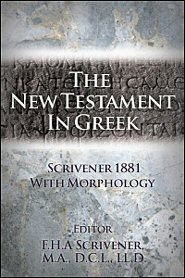 The New Testament in Greek (Scrivener 1881)