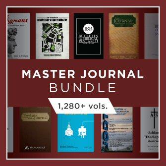 Master Journal Bundle (1,280+ vols.)