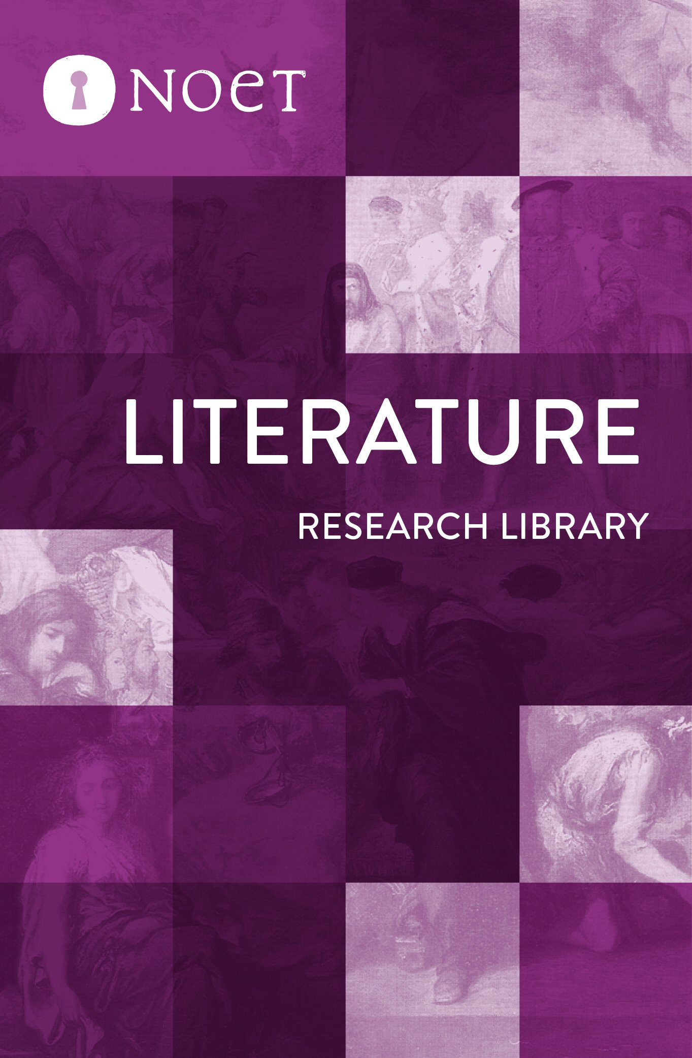 Literature Research Library (124 vols.)