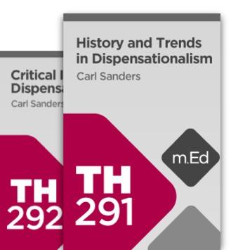 Mobile Ed: Studies in Dispensationalism Bundle (2 courses)