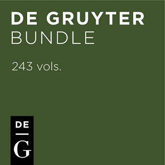 De Gruyter Bundle (243 vols.)