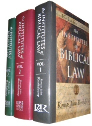 The Institutes of Biblical Law (3 vols.)
