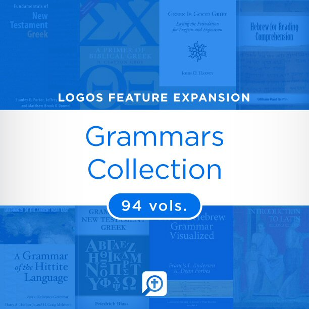 Grammars Collection (94 vols.)