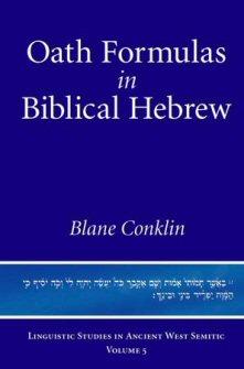 Oath Formulas in Biblical Hebrew